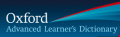 Oxford Advanced Learner's Dictionary: Free online dictionary definitions for learners of English